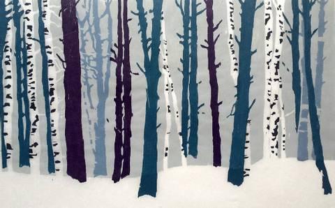 Bilde av Vinterskog av Vegge og Kolsrud
