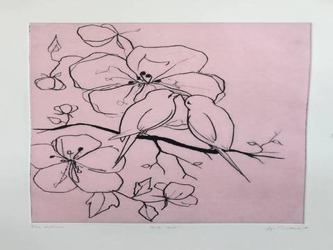 Bilde av Pink Love av Anja Cecilie Solvik