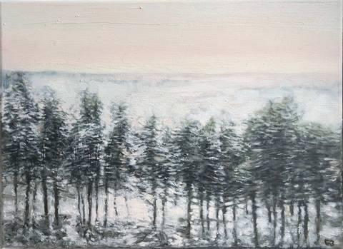 Bilde av Vinter I, landskap av Geir Brohjem