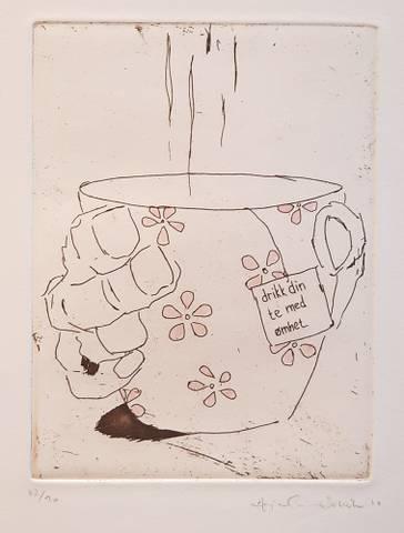 Bilde av Drikk din te av Anja Cecilie Solvik