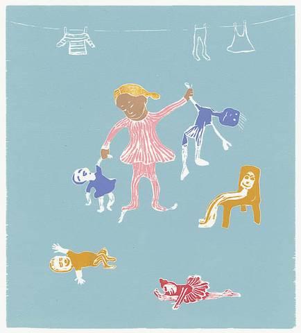 Bilde av Dukkemor av Eli Hovdenak
