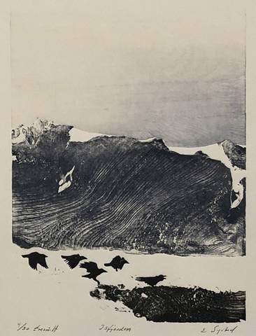 Bilde av Isfjorden av Einar Sigstad