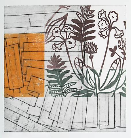 Bilde av Interiør II av Marie-Ann Mürer