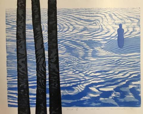 Bilde av Inn i det blå... av Trine Lindheim