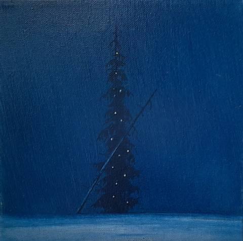 Bilde av Julegran I av Christopher Rådlund